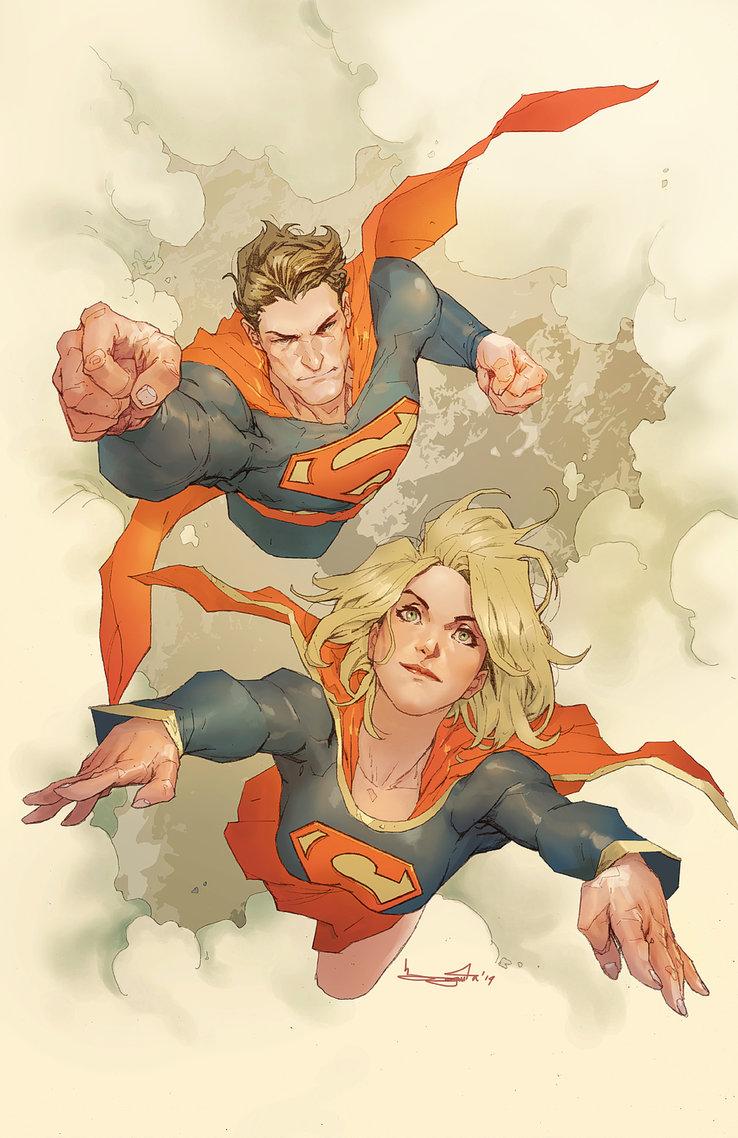 Superman & Supergirl by Barnaby Bagenda