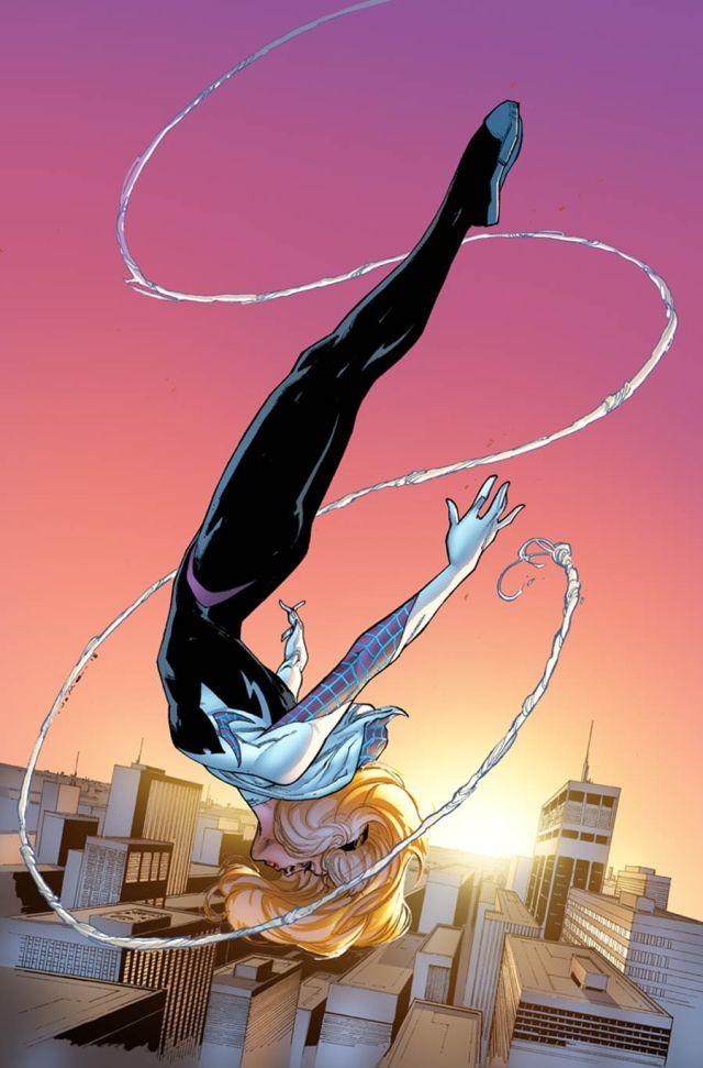 Spider-Gwen Jerome Opena variant