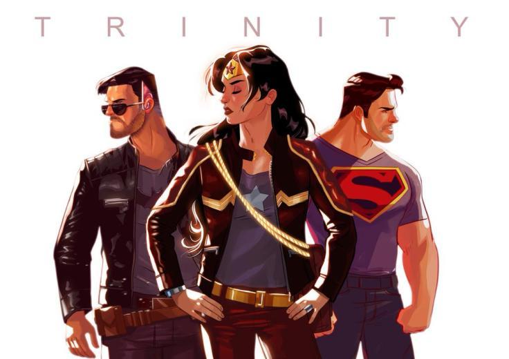 Trinity by Stephen Byrne