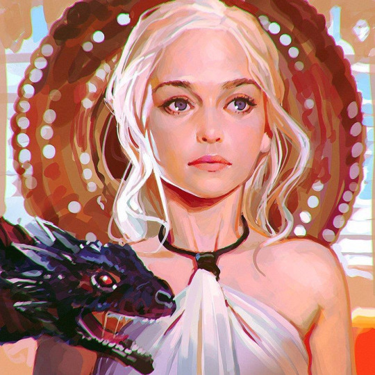 Daenerys Targaryen by Ilya Kuvshinov.