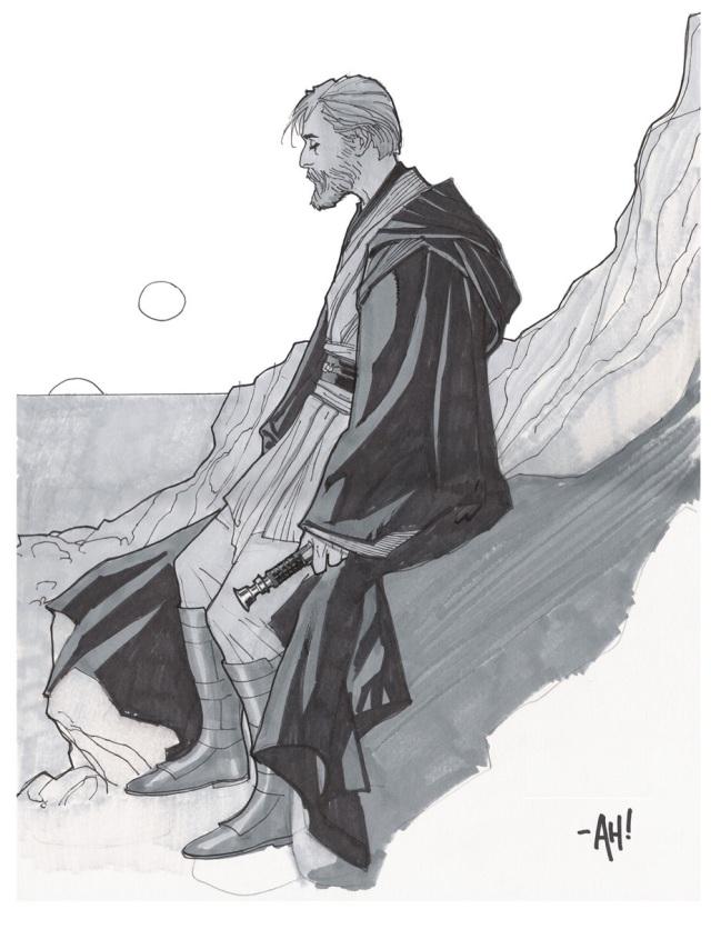 Obi-Wan Kenobi by Adam Hughes