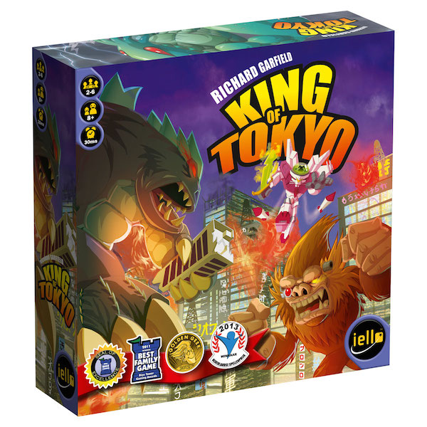 King of Tokyo Game by IELLO